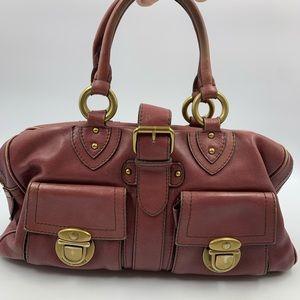 Marc Jacobs Venetia Satchel Purse Handbag Leather